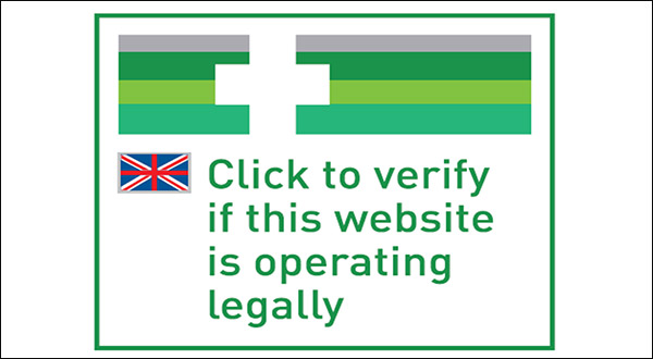 check if the online website is registered to sell medicines